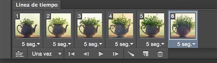 Crear un Gif Animado con Photoshop CC
