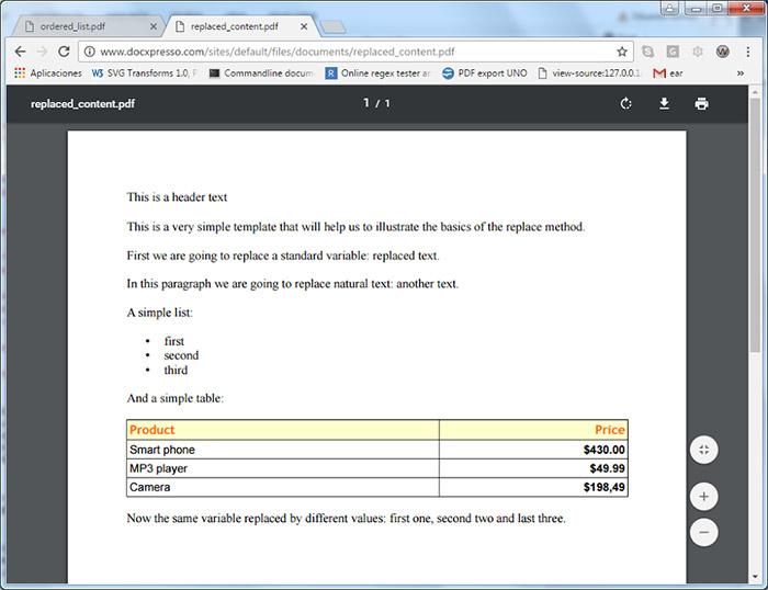 Cómo generar documentos PDF, WORD desde el servidor con PHP?