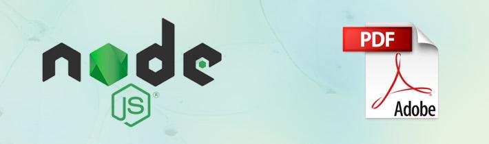 Generar PDF desde NodeJS