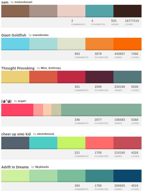 Cómo crear las mejores Paletas de color