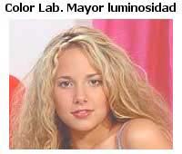 Color Lab. Mayor luminosidad