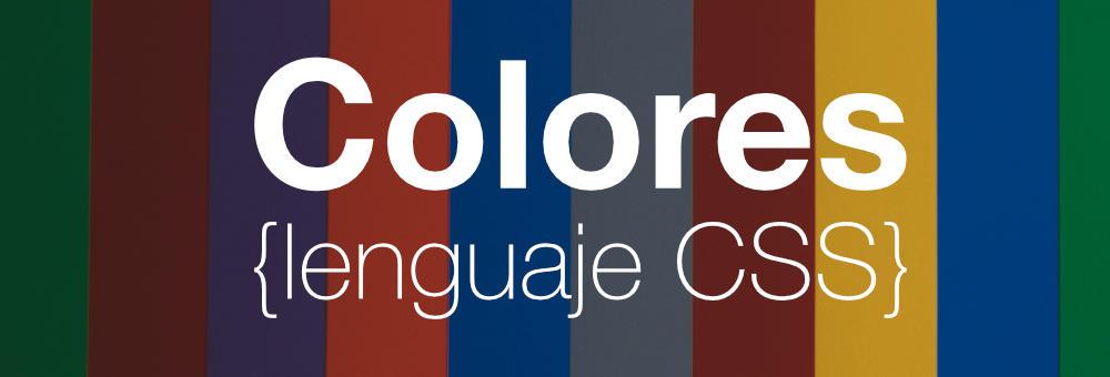Notación de colores CSS