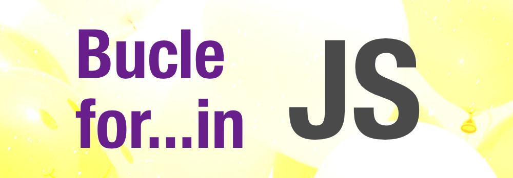 for in en Javascript