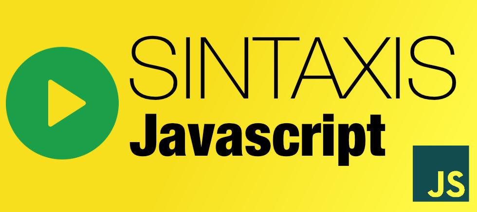 Videotutorial de sintaxis en Javascript