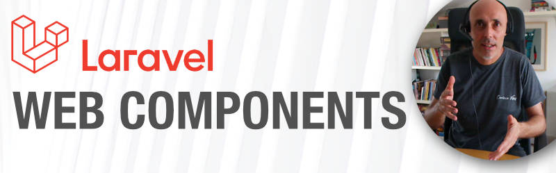 Usa Web Components en Laravel